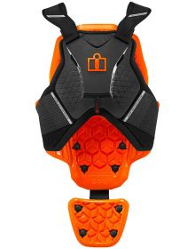 Icon D30 Armor Chest Protector Vest Black
