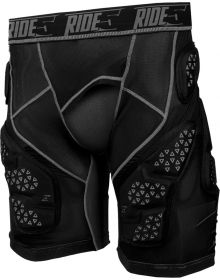 509 R-Mor Snowmobile Protection Riding Short Black