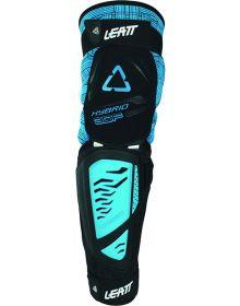 Leatt 3DF Hybrid EXT Knee & Shin Guard Black/ Blue