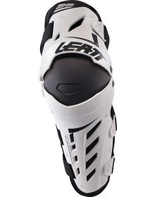 Leatt Dual Axis Knee & Shin Guard White/ Black