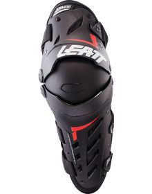 Leatt Dual Axis Knee & Shin Guard Black/ Red