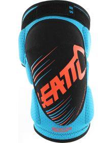 Leatt 3DF 5.0 Junior Knee Guard Blue/ Orange