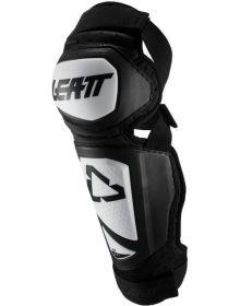 Leatt 2019 Knee & Shin Guards 3.0 EXT WhiteBlack