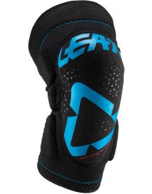Leatt 2019 Knee Guards 3DF 5.0 Fuel/Black