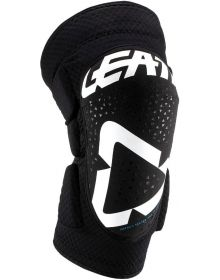 Leatt 2019 Knee Guards 3DF 5.0 White/Black