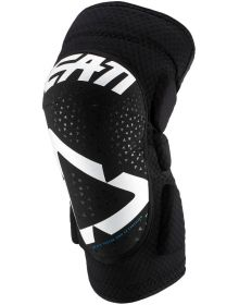 Leatt 2019 Knee Guards 3DF 5.0 Jr White/Black