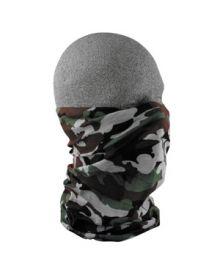 Zan Motley Tube Face Mask Woodland Camo