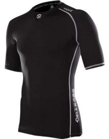 Virus CO5 Stay Cool Short Sleeve Compression Shirt Black