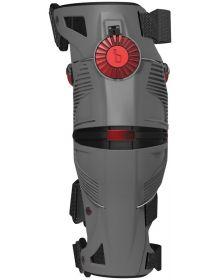 Mobius X8 Knee Brace Grey/Crimson Pair Small