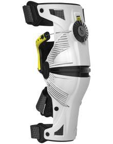 Mobius X8 Knee Brace White/Yellow Pair Large