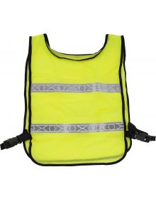 BikeMaster Reflector Safety Vest Lime