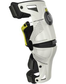 Mobius X8 Knee Brace White/Yellow Pair XL