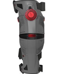 Mobius X8 Knee Brace Grey/Crimson Pair XL