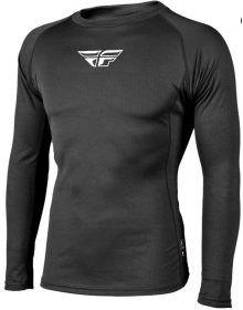 Fly Racing Base Layer Long Sleeve Shirt Black