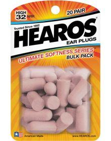 Hearos Ear Plugs 20 Pair Pack