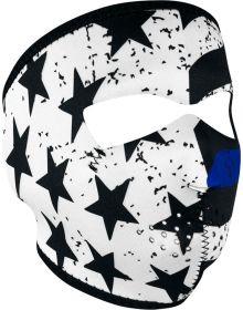 Zan Headgear Full Face Neoprene Mask Thin Blue Line