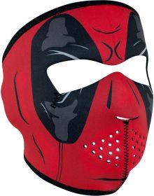 Zan Headgear Full Face Neoprene Mask Red Dawn
