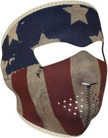 Zan Headgear Full Face Neoprene Mask Patriot