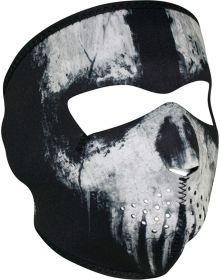 Zan Headgear Full Face Neoprene Mask Skull Ghost