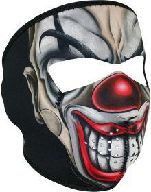 Zan Headgear Full Face Neoprene Mask Chicano Clown