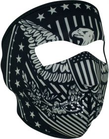Zan Headgear Full Face Neoprene Mask Vintage Eagle