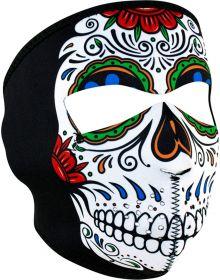 Zan Headgear Full Face Neoprene Mask Muerte Skull