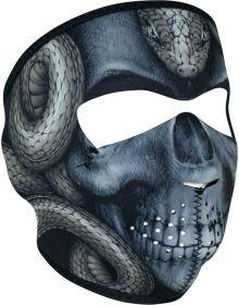 Zan Headgear Full Face Neoprene Mask Snake Skull