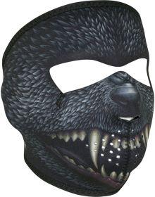 Zan Headgear Full Face Neoprene Mask Silver Bullet