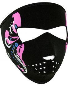 Zan Headgear Small Face Neoprene Mask Mardi Gras