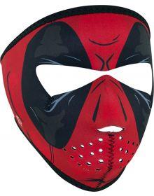 Zan Headgear Small Face Neoprene Mask Red Dawn