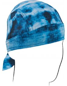 Zanhead Road Hog Flydanna Head Wrap Blue Tie Dye