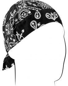 Zanhead Road Hog Flydanna Head Wrap Black Paisley