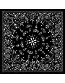 Zanhead Bandanna Black Paisley