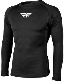 Fly Racing Base Layer Long Sleeve Heavy Shirt Black