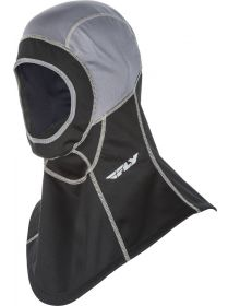 Fly Racing Ignitor Open Face Balaclava Mask Black/Grey