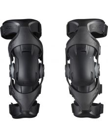 Pod MX K4 2.0 Youth Knee Brace Pair Graphite/Black