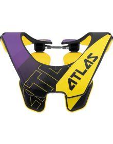 Atlas Air Neck Brace Baller Purple/Hi-Vis