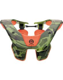Atlas Prodigy Youth Neck Brace Orange Ruck