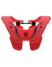 Atlas Prodigy Youth Neck Brace Fire Red