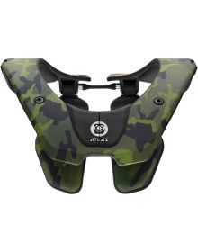 Atlas Prodigy Youth Neck Brace Green Camo