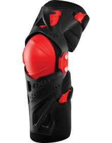 Thor Force XP Knee Guard Youth Red