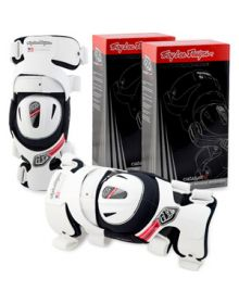 Troy Lee Designs Catalyst X Knee Brace Pair White Small