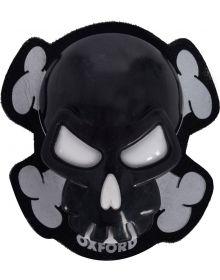 Oxford Skull Knee Sliders Black