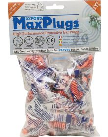 Oxford Max Plugs Very High Protection Ear Plugs 50 Pairs/Pack