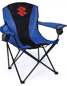 Factory Effex Suzuki Camping Chair Black/Blue