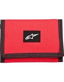 Alpinestars Friction Trifold Wallet Red
