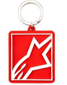 Alpinestars Corp Shift Keychain Fob Red