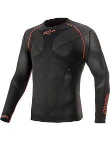 Alpinestars Ride Tech V2 Longlseeve Shirt Black/Red