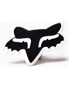 Fox Racing Trailer Hitch Cover Black/White