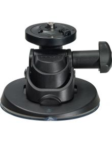 360 Fly Camera Low Profile Suction Cup Mount Black
